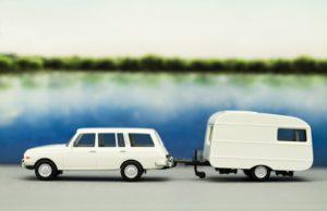Auto met caravan - caravantraining | Rijschool Heezen