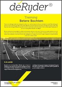 Training betere bochten motorrijden